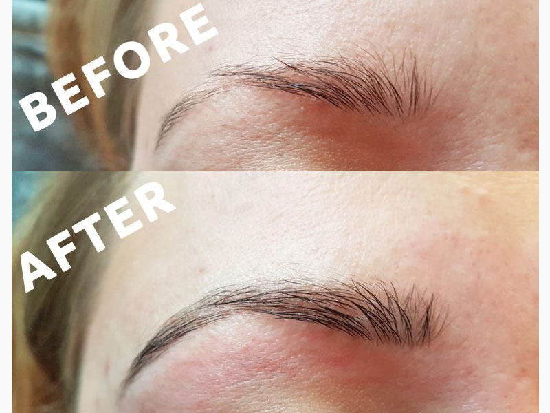Eyebrow shape in Kegworth